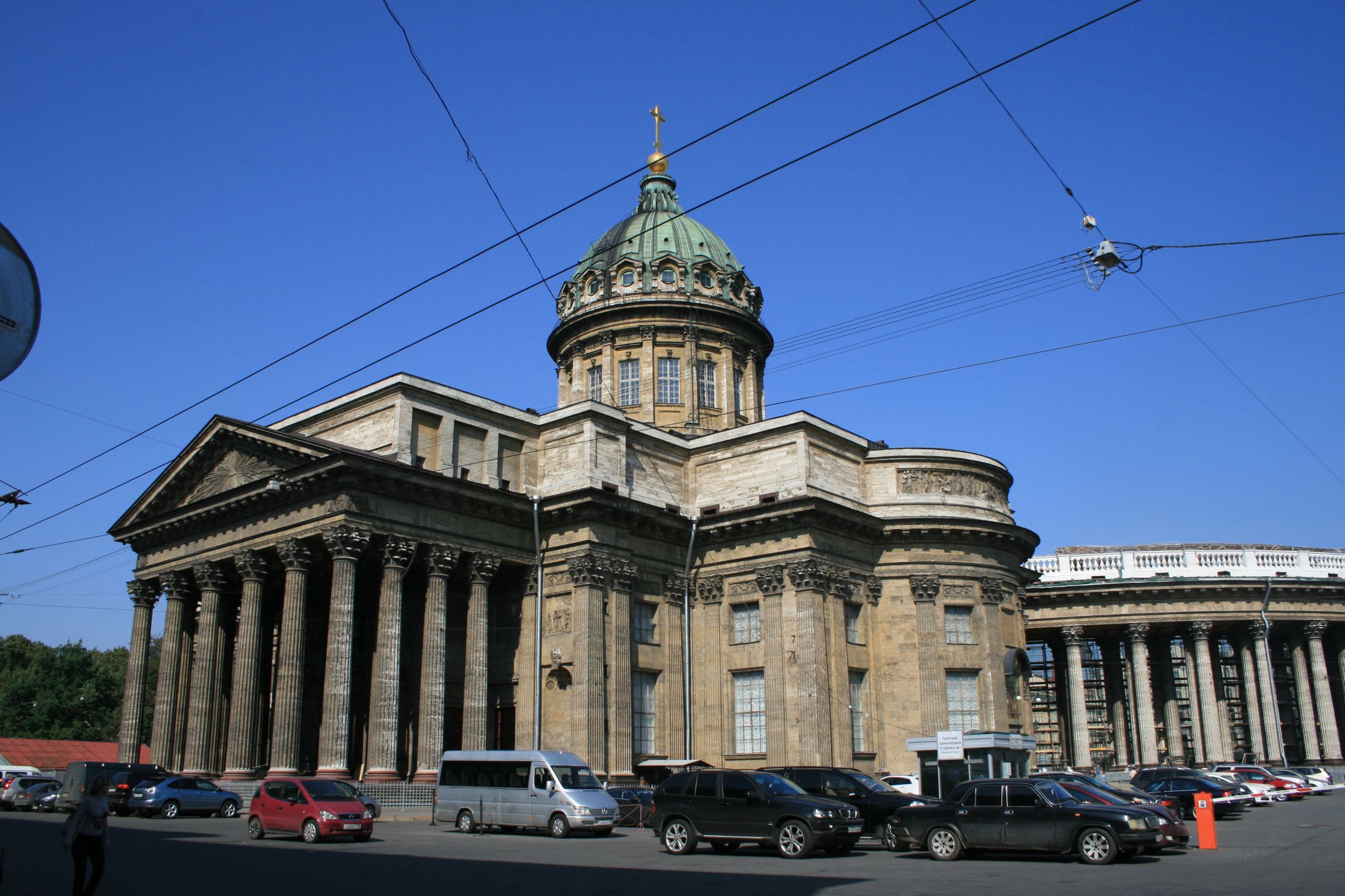 Kazan cathedral in St Petersburg