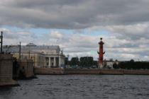 the Spit of Vasilevsky island
