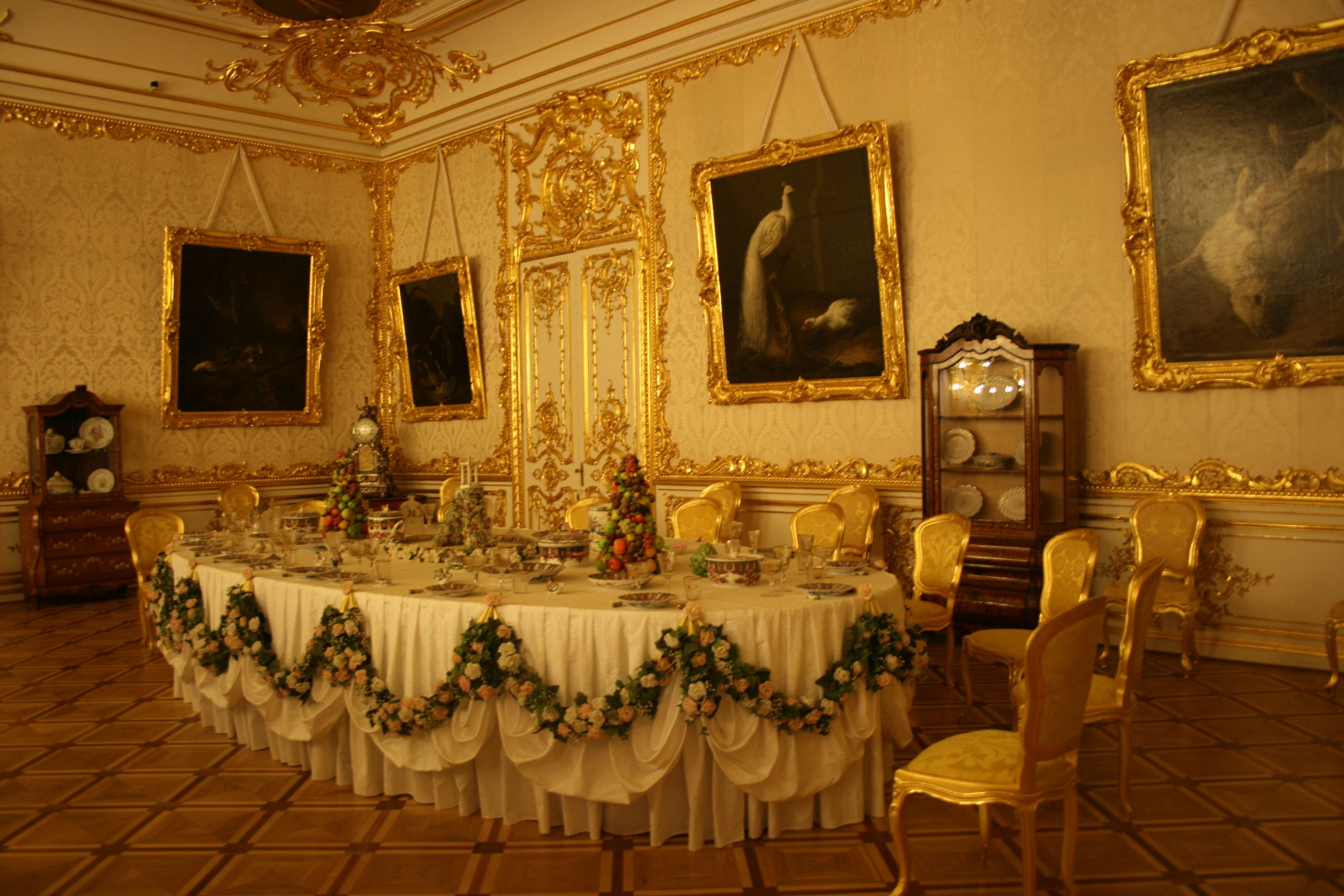Dining room Catherine palace