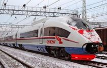 sapsan high-speed train