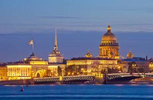 evening in St Petersburg