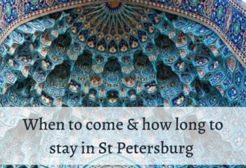 best time to visit St Petersburg